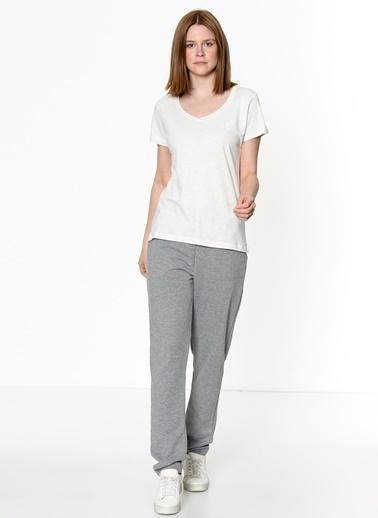 Hummel Kadın Tişört Alma 910953-9003 Beyaz